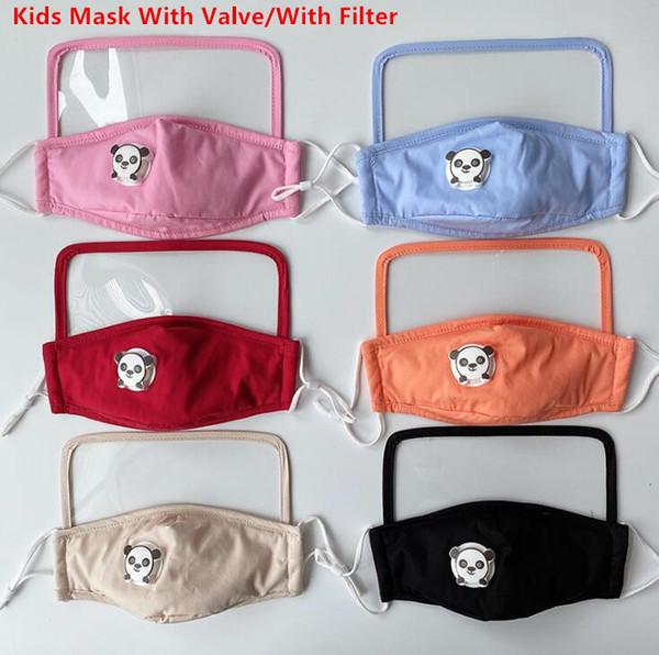 Kinder-Maske mit Ventil (Mischungsfarbe)