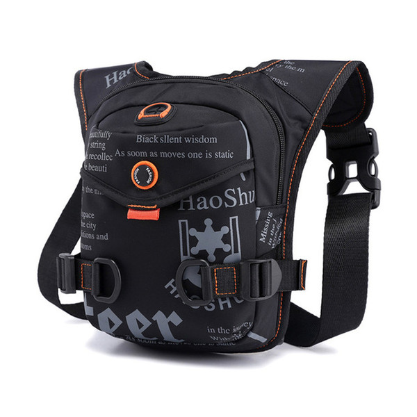 top popular Men Multifunction Oxford Crossbody Bag Leg Belt Bag Waist Fanny Pack Travel Riding Motorcycle Crossbody Shoulder Bags Waterproof 2021