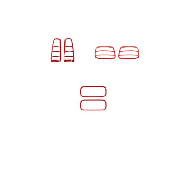 أحمر 6 قطع