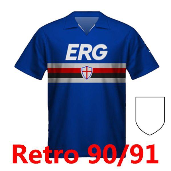 Patch Sampdoria 90 91