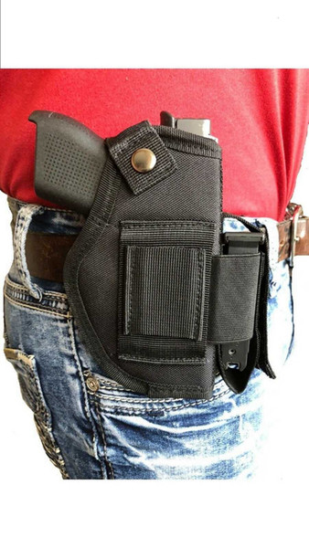 best selling Gun Tactical holster With Magazine Pouch For Taurus Millennium G2 PT111,PT140 With Las e r