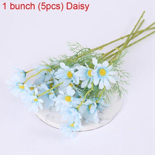 1bunch Blue Daisy