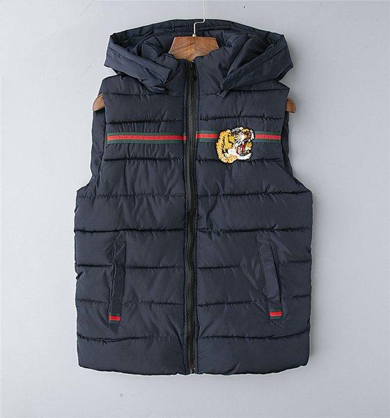 best selling New Mens Jacket Sleeveless Vest mens face men winter jacket Fashion Casual Coats Male Down Men Waist coat