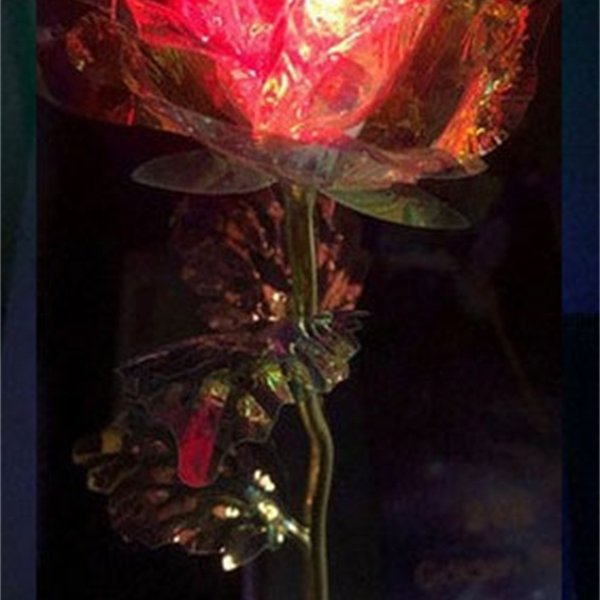 Vibration Light Single Flower