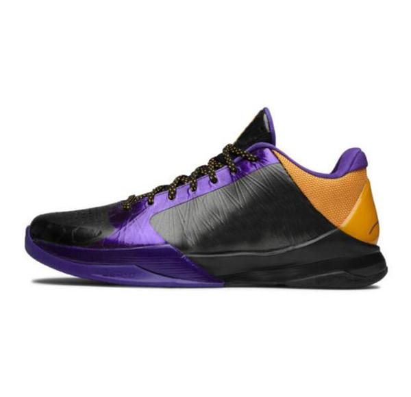 Lakers Noir Violet