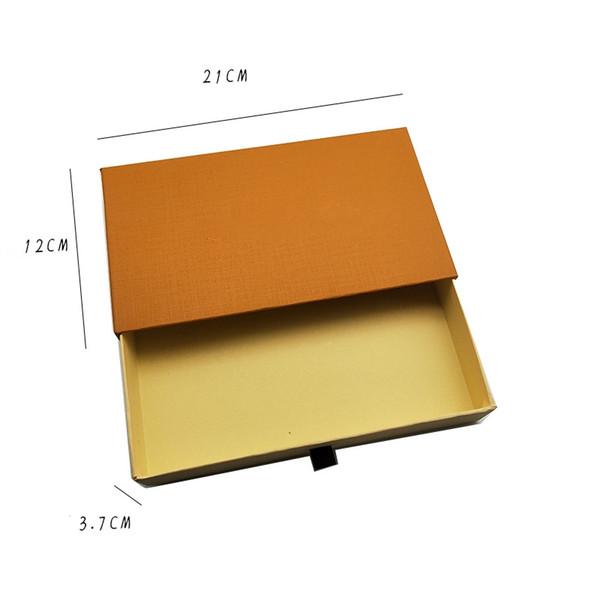 Только Orange Box ящик 21 * 12 * 3.7cm
