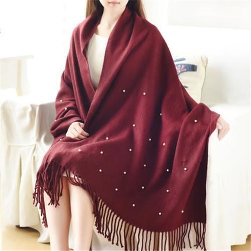 scarf women Maroon