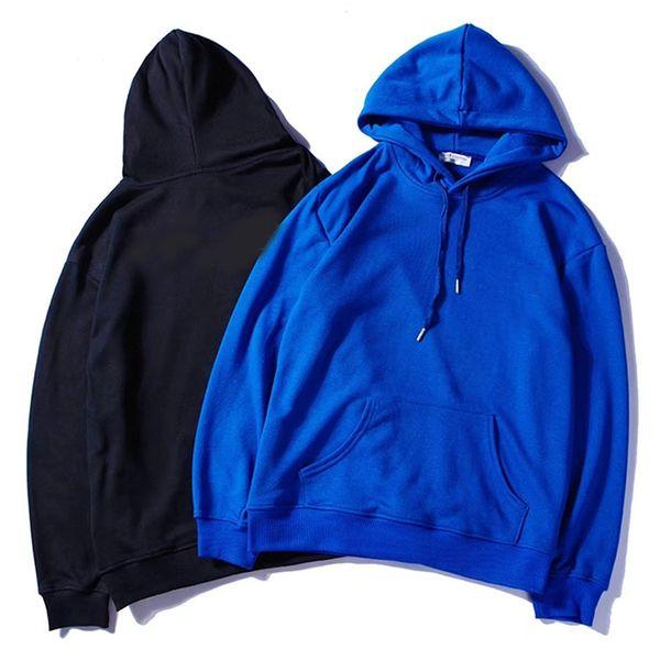 top popular 20ss Mens Clothing Homme Hooded Sweatshirts Mens Women Designe Hoodies High Street Print pocket Pullover Autumn And Winter Sweatshirts 2021