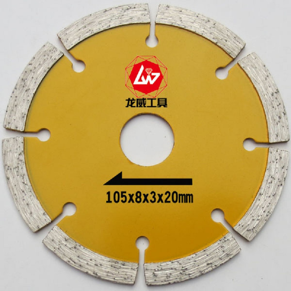 """top popular Wall Chasing Blade 105mm Diamond Cutting Disc,4"""" Circular Saw Disk For Bricks, Granite,Marble,Concrete,Cement Slotting.Free Shipping 2021"""