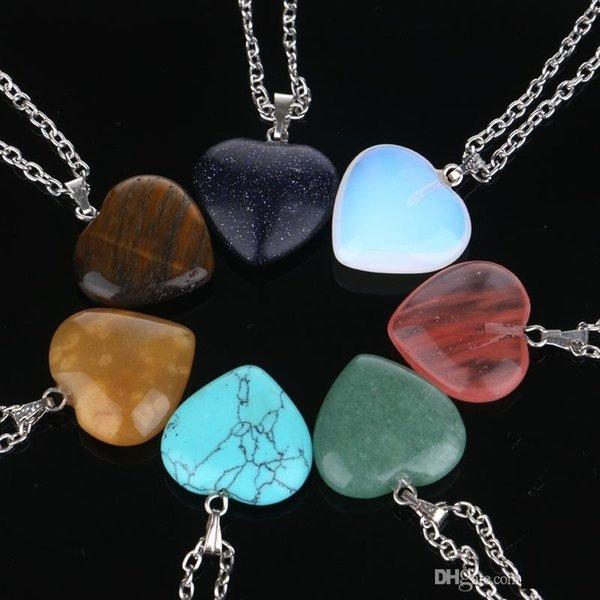 Coeur Mélange de chaîne en acier inoxydable