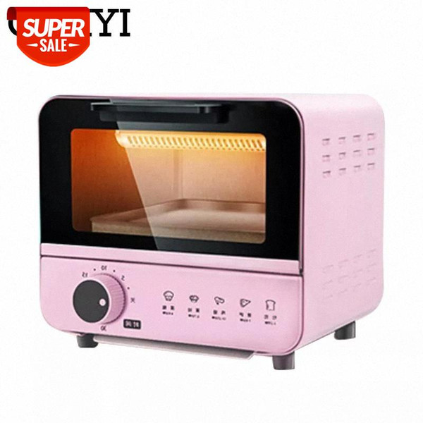 top popular CUKYI 6L Household Electric baking oven toaster pizza bakery machine multifunction mini oven 800W with 30min timer baking EU 220 #ye88 2021