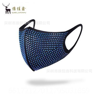 Diamante azul con backgroun negro # 29310