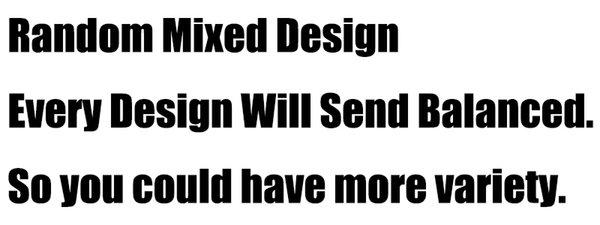 Design mélangé aléatoire