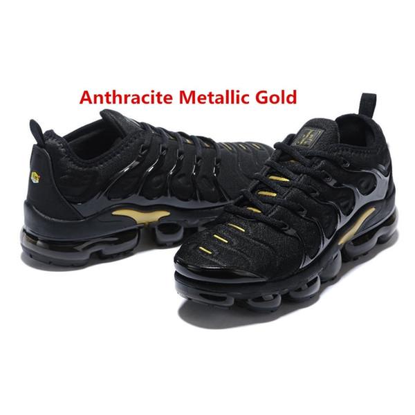 Anthrazitmetallisches Gold