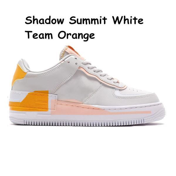 24 Sommet Ombre Équipe Blanc Orange 36-40