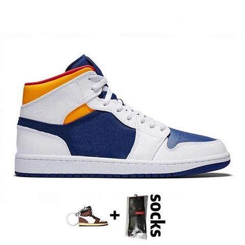 A13 36-46 Royal Blue Laser orange