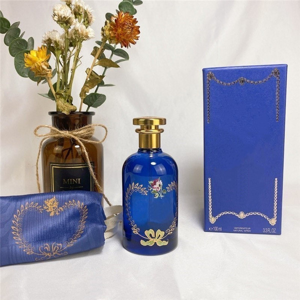 best selling Best selling perfume Blue bottle A SONG FOR THE ROSE women perfume 100ml high quality free fast shipping