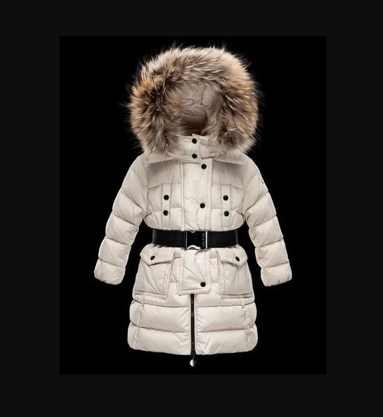 top popular 2021 Children's Girl  women boy Jacket Parkas Coat With Hood For Girls Warm Thick Down Jackets Kids Hooded Real 100% Fur Winter Coats 2021