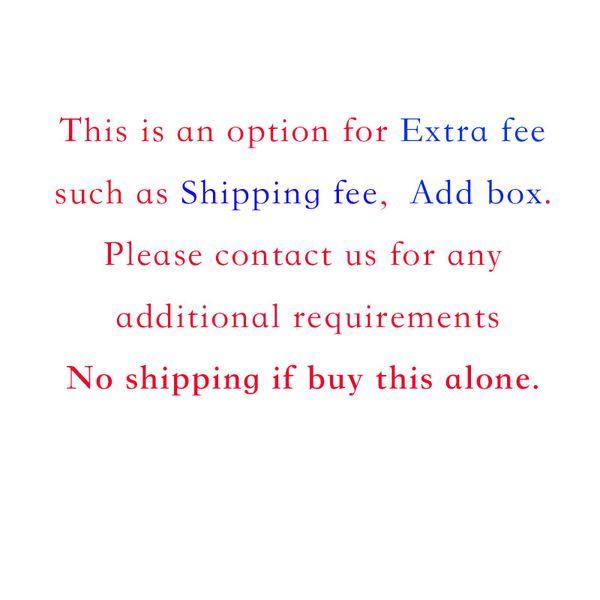 tarifa adicional, ningún barco solo