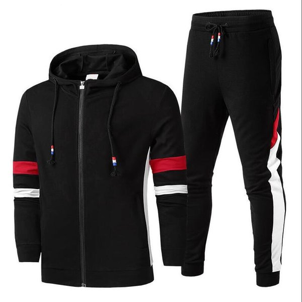 New Arrival Designer Sports Tracksuits For Men Sweatsuit With Letters Fashion Winter Mens Tracksuit Hot Sale Casual Jogger Pants L-5XL