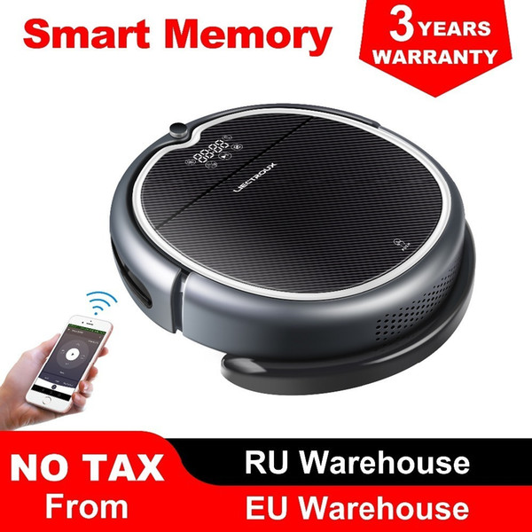 top popular (New Arrival)LIECTROUX Robot Vacuum Cleaner Q8000, WiFi App, Map Navigation,Suction 3000Pa,Memory,Wet Dry Mop,Best Aspirador Y200320 2021