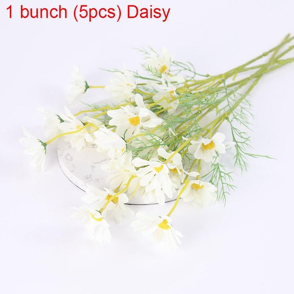 1bunch White Daisy