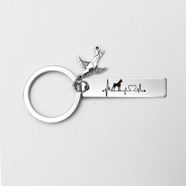 Style 2-Schlüsselanhänger