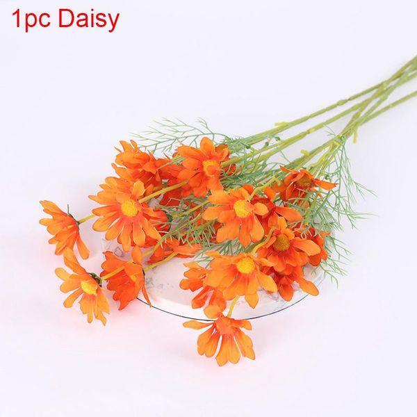 1pc Orange Daisy