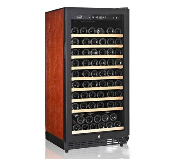 top popular 80-pack compressor single and double-temperature wine cabinets Constant temperature and humidity display rack wine cabinet Freezers 2020