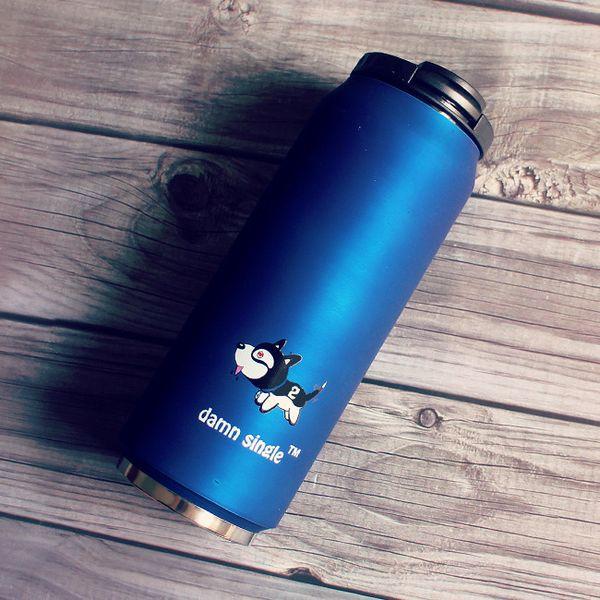 Virar Dark Blue Individual Dog + Escova Cup + Tampa Cup