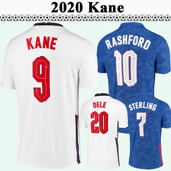 2020 KANE RASHFORD Mens Soccer Jerseys STERLING GOMEZ MADDISON TRIPPIER ROSE Home Away Football Shirt DELE Short Sleeve Uniforms