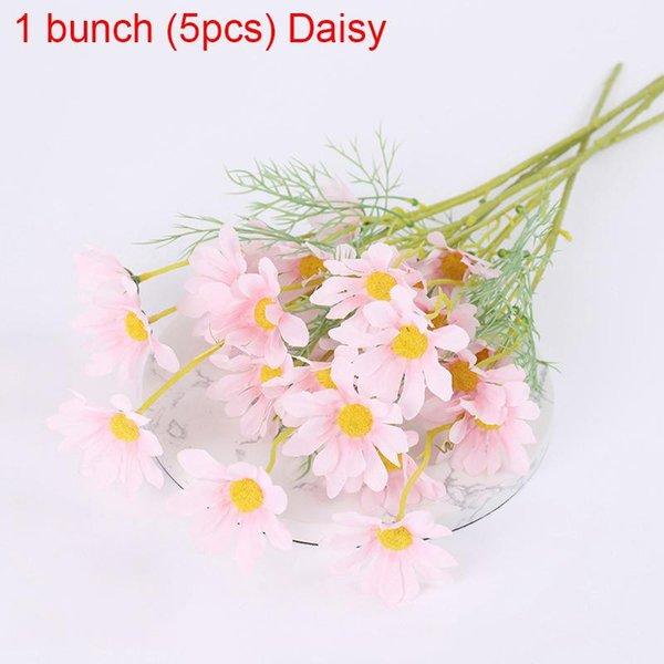 1bunch Pink Daisy