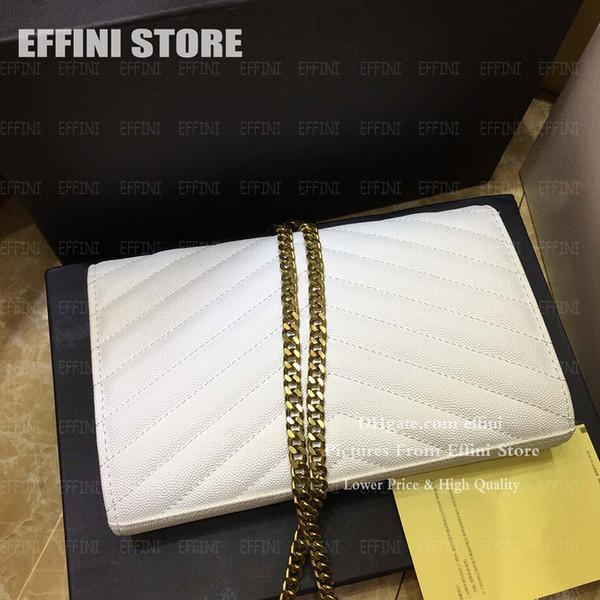 chaîne en or blanc