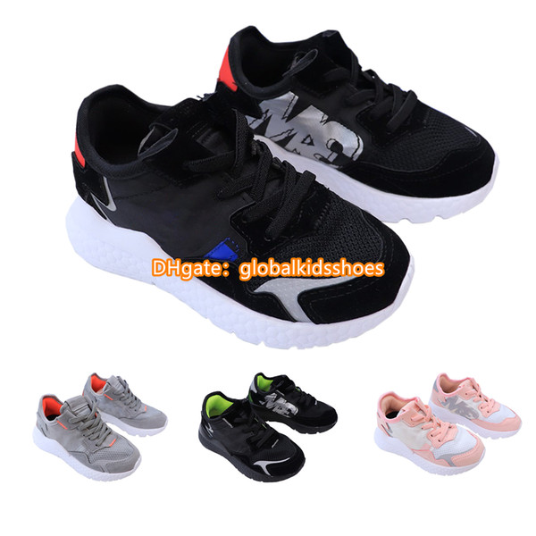 top popular Kids Designers Shoes Toddler Shoes Boys Girl Infant Baby Shoes Air Kids Sneakers Child Youth Chaussures Enfants Baskets Enfants Boy Trainers 2020