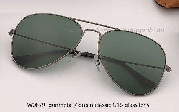W0879 Gunmetal / عدسة G15 الكلاسيكية