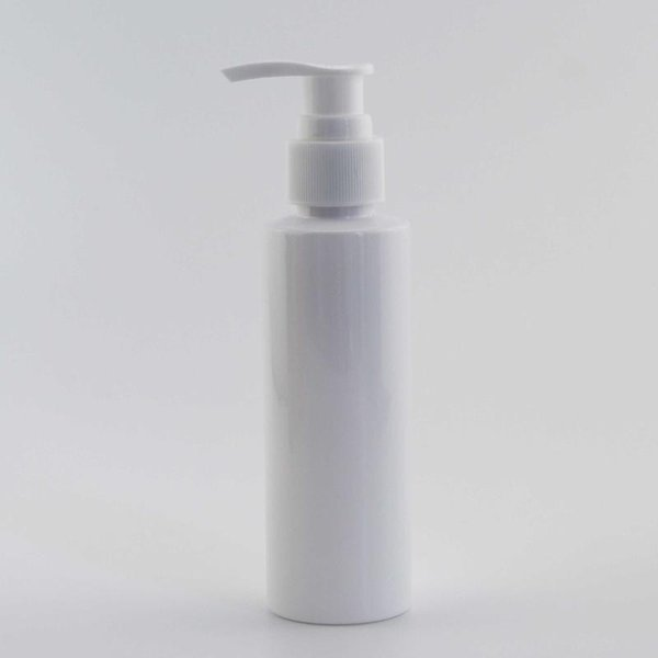 120ml White Bottle White Plastic
