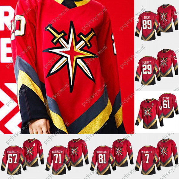 top popular 2021 Reverse Retro Mark Stone Jersey C Patch Vegas Golden Knights Alex Pietrangelo William Karlsson Max Pacioretty Ryan Reaves Reilly Smith 2021