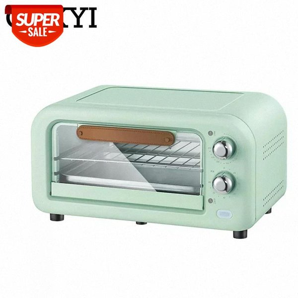 top popular CUKYI Mini oven baking Red and Black 12L Household Multifunctional cookies Household Electric ovens #995q 2021