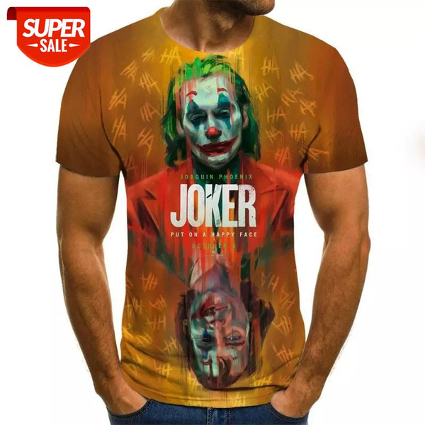 top popular 2020 Newest role play 3D Print Cool Funny T-Shirt Men Short Sleeve Summer Tops 3d Tshirt Male Fashion T-shirt XXS-6XL #Tp84 2021