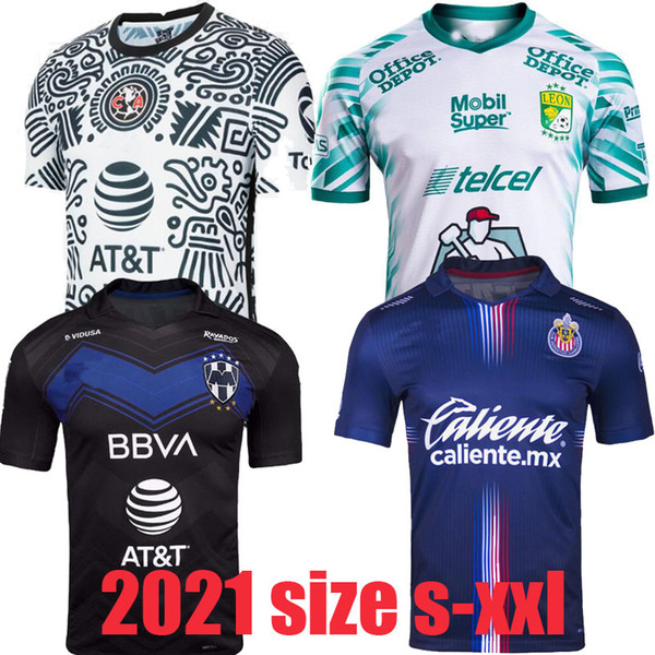 top popular liga mx 21 22 Club America Soccer Jerseys leon third 2021 2022 mexico Léon Tijuana Tigres UNAM men kids Chivas Cruz Azul 3rd Football Shirts 2021