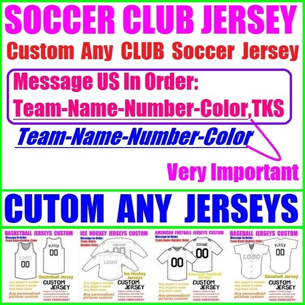 CUSTOM NATIONAL SOCCER JERSEY