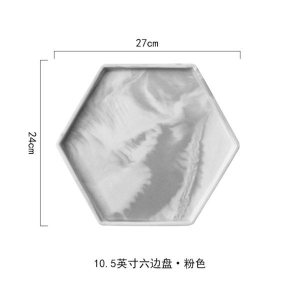 10.5 Inch Hexagon