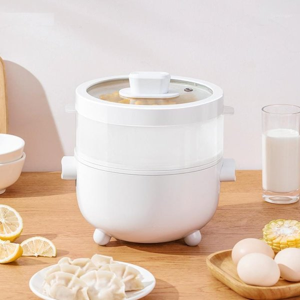 top popular 220V Electric Rice Cooker 2L Multi Cooker Mini Portable Electric Hot Pot Household Cooking Pot For Office School1 2021