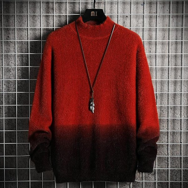 Red Sweater Männer