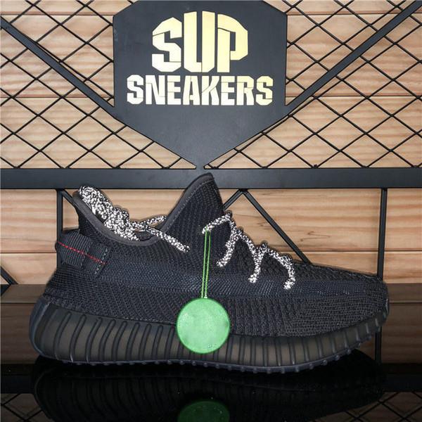 Negro (zapatillas-reflectante)