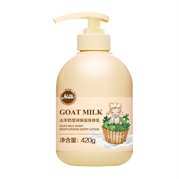 top popular best quality tender skin and removes chicken skin goat milk skin lightening moisturizing smoothing nourishing body lotion 2021
