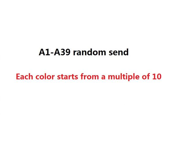 A1-A39 rastgele gönderin