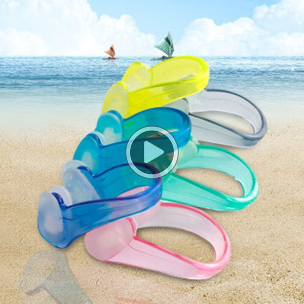 best selling VOFL Unisex Nose Clip Soft Sile Swimming Nose Clips Waterproof Nose Clip for Children Adults Water Sports Pool Acssories