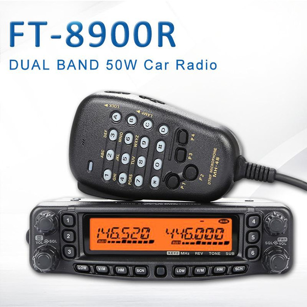 top popular General YAESU FT-8900R FT 8900R Professional Mobile Car Two Way Radio   Car Transceiver Walkie-Talkie Interphone 2021