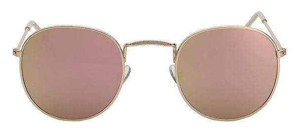 Gold w pink mirror